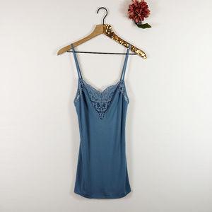 [VICTORIA'S SECRET] Lace Cami Sleep Shirt